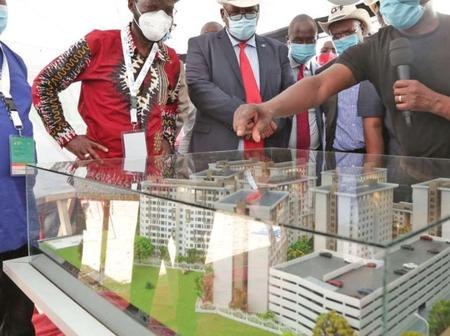 The Construction of over 1,900 units to replace the 63 years old houses begins.